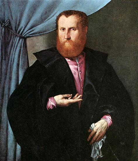 Man in black cloak